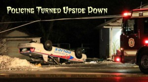 Upside Down Police Car P